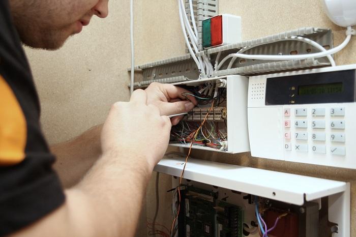 Entretien de système d'alarme commercial
