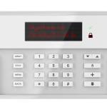 Panneau de contrôle d'un système d'alarme domotique