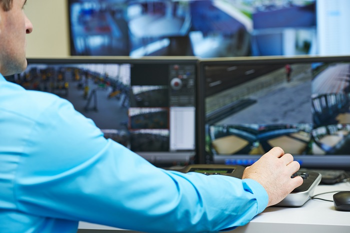 Système de sécurité relié à une centrale à Ottawa