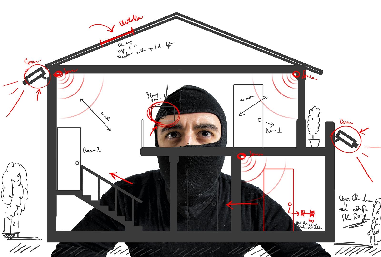10 trucs et bonnes habitudes pour loigner les voleurs de votre maison 3 soumissions. Black Bedroom Furniture Sets. Home Design Ideas