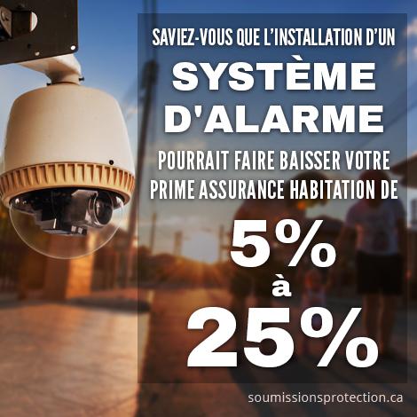 Système d'alarme à Ottawa