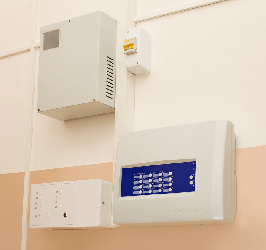 Panneau de commande d'un système d'alarme