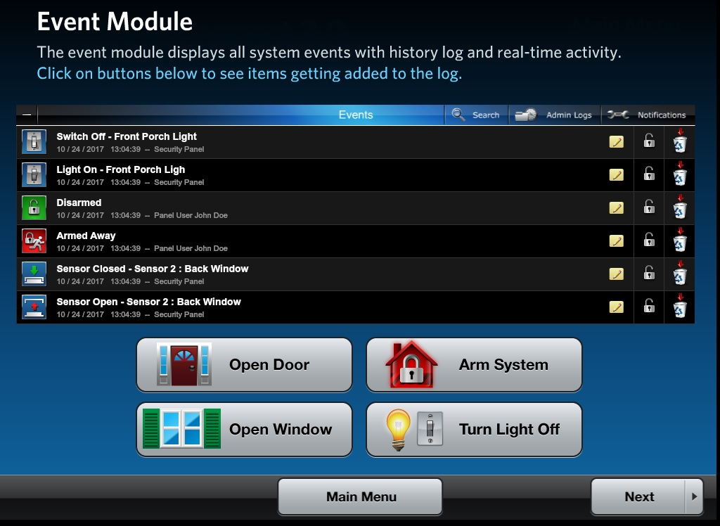 event-module-domotique-liste-taches-controle