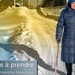 Marche hivernale et sécurité des aînés : conseils pratiques en matière de protection