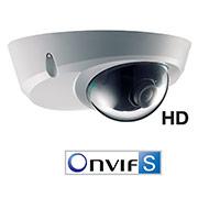 Les caméras de sécurité Micro-dômes IP intérieures H2S1P6X et H2S2P6X