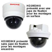 Une caméra réseau HD3MDIHX