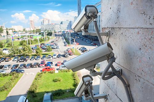 Caméras de surveillance installées en lieux publics
