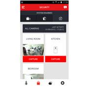 L'application mobile gratuite d'Honeywell, le Total Connect Comfort International.