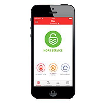 Offert gratuitement par Honeywell, la app GX Remote Control pour contrôler votre système de sécurité