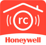 Trouvez ce logo de Honeywell pour télécharger l'application mobile GX Remote Control gratuitement pour votre système de sécurité.