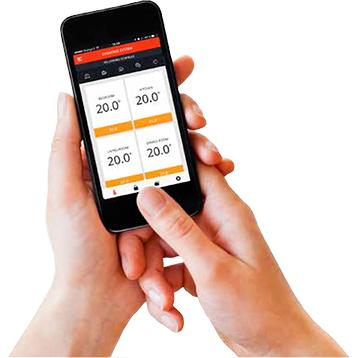Mettez en marche votre système de sécurité Sucre Box avec cette application mobile d'Honeywell