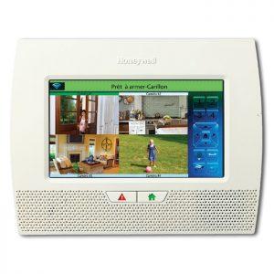 La deuxième place du palmarès des systèmes d'alarme est prise par le LYNX 7000 de Honeywell.