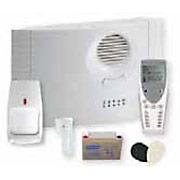 Central d'alarme sans fil Domonial le kit standard de Honeywell.