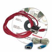 Installez le logiciel de programmation avec ce kit d'Honeywell.