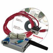 L'excellent kit qui comprend le logiciel et le cordon pour faire la programmation GSM de votre produit Honeywell.)