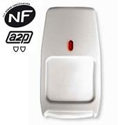 Le détecteur infrarouge passif pour centrale d'alarme sans fil Domonial.