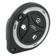 Portez cette télécommande type porte-clefs pour votre système de sécurité sans fil Sucre Box.