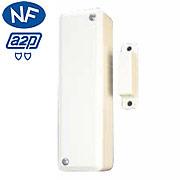 Le détecteur d'ouverture pour système de sécurité sans fil Domonial.