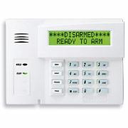 Un clavier qui fonctionne avec des badges de sécurité, le 6160, clavier LCD Keyprox d'Honeywell.