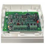 Vous pourrez utiliser 32 périphériques avec ce module Rio RF C076 pour le système de sécurité Galaxy.