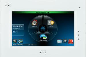 Fais pour le système de sécurité Galaxy Flex, le clavier TouchCenter.