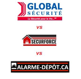 global sécurité vs securforce alarme-depot